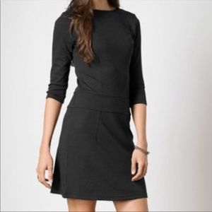 Horny Toad Nixi Drop Waist Charcoal Dress